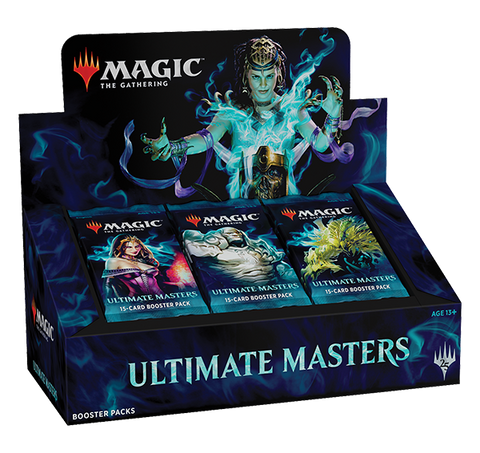 Magic the Gathering Ultimate Masters Booster Box (Release date 07/12/2018)-Games Corner
