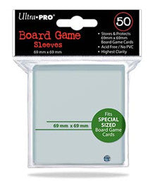 Ultra Pro - Board Game Sleeves - GM 69 X 69MM 50CT