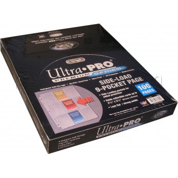 Ultra Pro 9 Pocket Side Load Page 100 pages