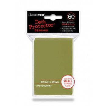 Ultra Pro Metallic Gold Small Deck 60ct