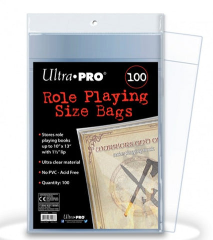 Ultra Pro Role Playing Bags 100ct