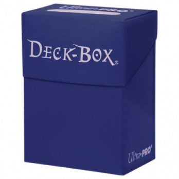 Ultra Pro Solid Blue Deck Box
