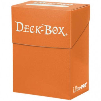 Ultra Pro Solid Orange Deck Box