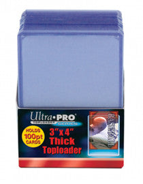 ULTRA PRO Top Loader - 3 x 4 Thick 100pt 25ct