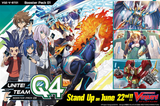 Cardfight Vanguard V Booster Box VOL. 01 (VGE-V-BT01) UNITE! TEAM Q4 - ENGLISH (Release date 22/06/2018)