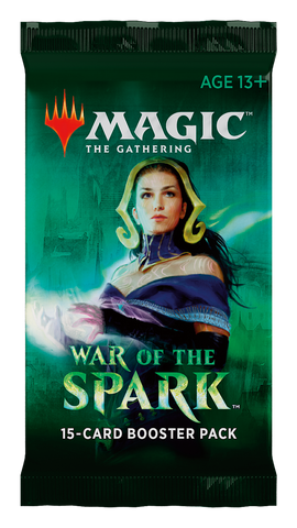 Magic The Gathering War of The Spark Booster Pack (Release