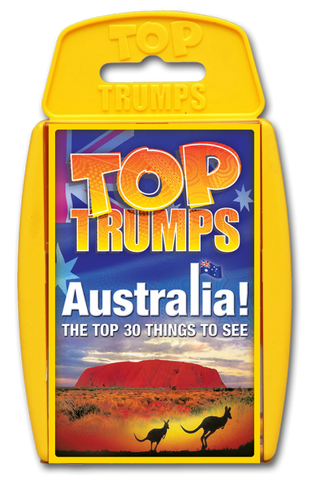 WMA Top Trumps Australia Top 30 Things to See