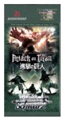 Weiss Schwarz Attack on Titan Booster Pack Vol.2-English (Release date 29/09/2017)