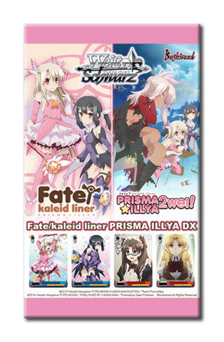 Weiss Schwarz Fate/kaleid liner PRISMA ILLYA DX Booster Pack-English (release date 14/10/2016)