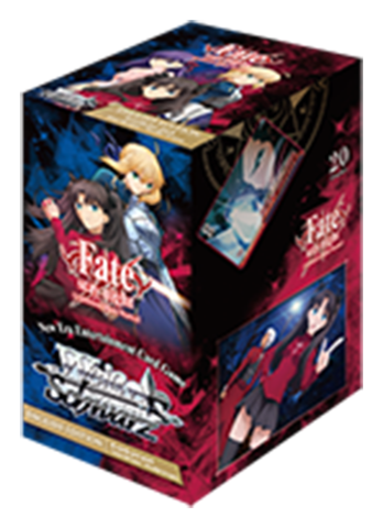 Weiss Schwarz Booster Pack (English Edition) Fate/stay
