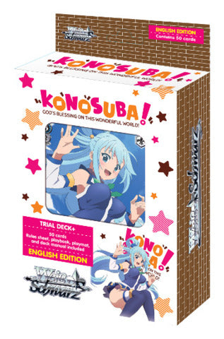 Weiss Schwarz KONOSUBA -GOD'S BLESSING ON THIS WONDERFUL WORLD! TRIAL DECK+ - ENGLISH (Release date 25/08/22017)