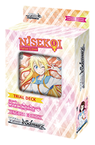Weiss Schwarz NISEKOI False Love Trial Deck-English