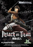 Weiss Schwarz WSE-BT Attack on Titan Booster Pack - English