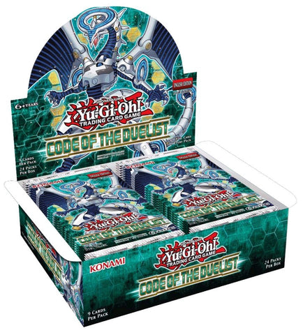 Yu-Gi-Oh! - Code of the Duelist Booster Box (Release date 3rd August 2017)