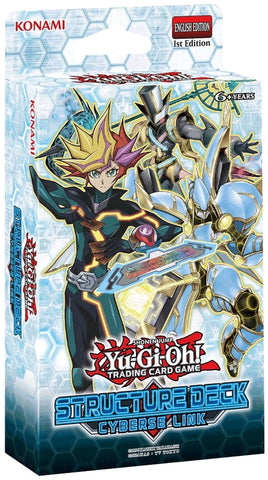 Yu-Gi-Oh! - Cyberse Link Structure Deck (Release date 02/11/2017)