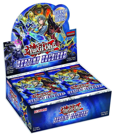 Yu-Gi-Oh! - Destiny Soldiers Booster Box Display