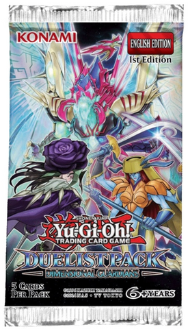 Yu-Gi-Oh! - Dimensional Guardians Duelist Pack (Release date 25/05/2017)