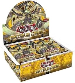 Yu-Gi-Oh! - Maximum Crisis Booster Display (Release date 04/05/2017)