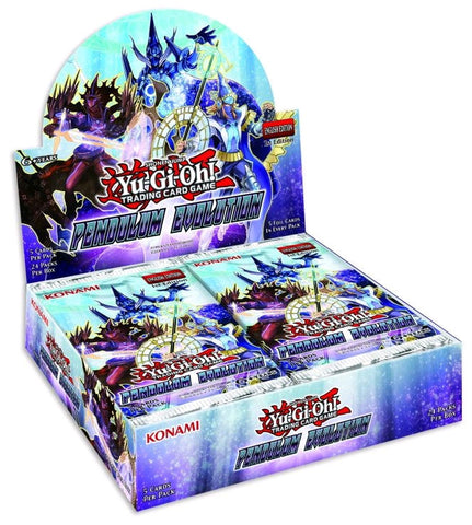 Yu-Gi-Oh! - Pendulum Evolution Booster Display (Release date 22/06/2017)