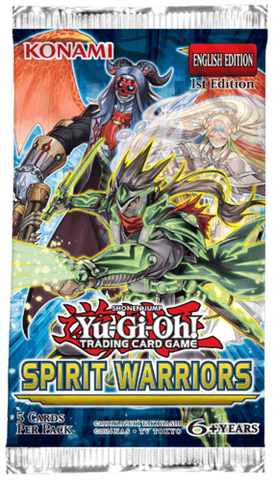 Yu-Gi-Oh! Spirit Warriors Booster Pack (Release date 16/11/2017)