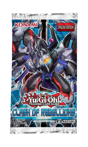 Yu-Gi-Oh! TCG Clash Of Rebellions Booster Pack