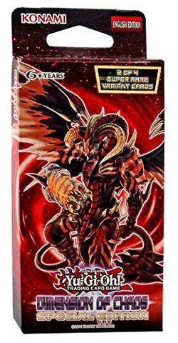 Yu-Gi-Oh! TCG Dimensions Of Chaos Special Edition Deck