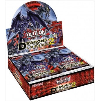 Yu-Gi-Oh! TCG Dragons Of Legends Series 2 Booster Box Display