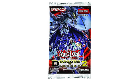 Yu-Gi-Oh! TCG Dragons Of Legends Series 2 Booster Pack