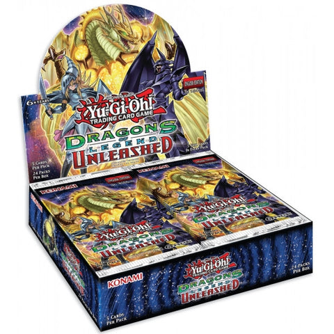 Yu-Gi-Oh TCG Dragons of Legend Unleashed Booster Box