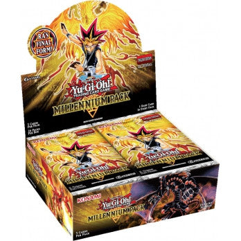 Yu-Gi-Oh! TCG Millennium Pack Booster Display