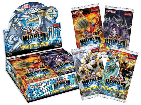 Yu-Gi-Oh! TCG World Superstars Booster Display