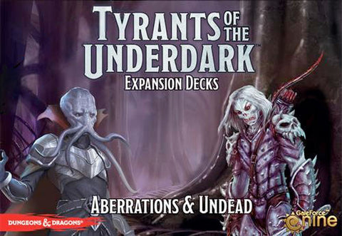 D&D Tyrants of the Underdark Expansion Aberrations & Undead