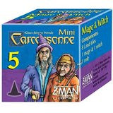 CARCASSONNE MINI EXPANSION #5 Mage & Witch