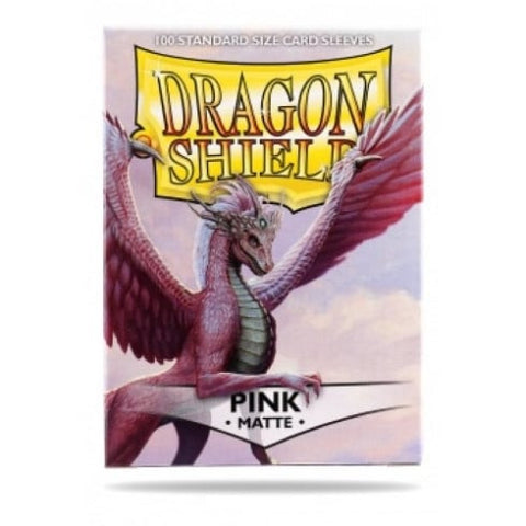 Sleeves - Dragon Shield - Box 100 - Pink MATTE