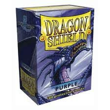 Dragon Shield 100 Protective Sleeves Purple