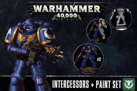 Warhammer 40K Intercessors and Paint Set