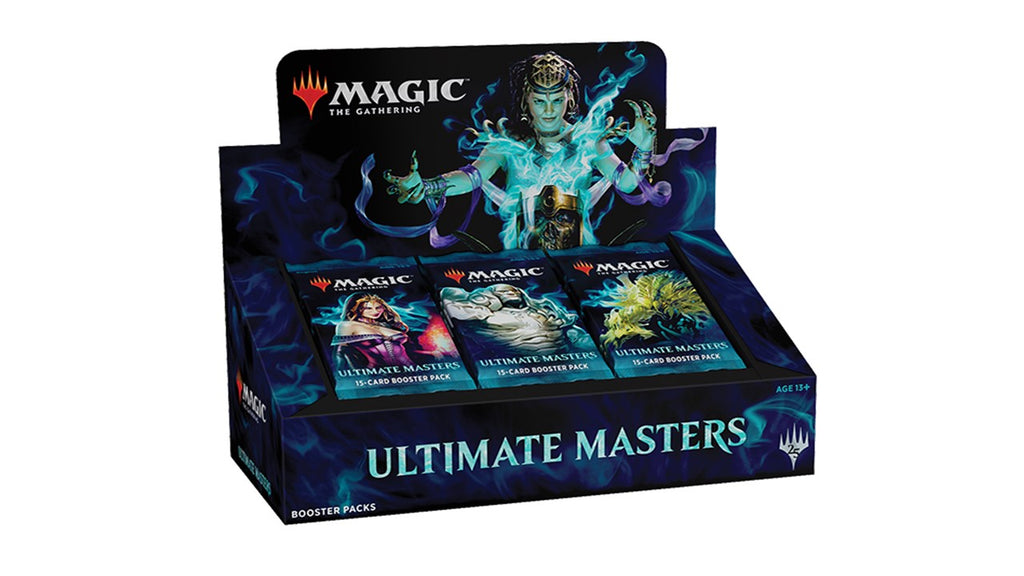 MAGIC THE GATHERING ULTIMATE MASTERS BOOSTER BOX (RELEASE DATE 07/12/2018)
