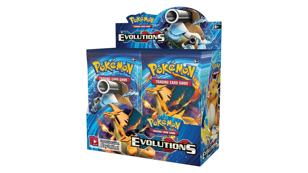 POKEMON TCG XY EVOLUTIONS BOOSTER BOX (RELEASE DATE: 02/11/2016)