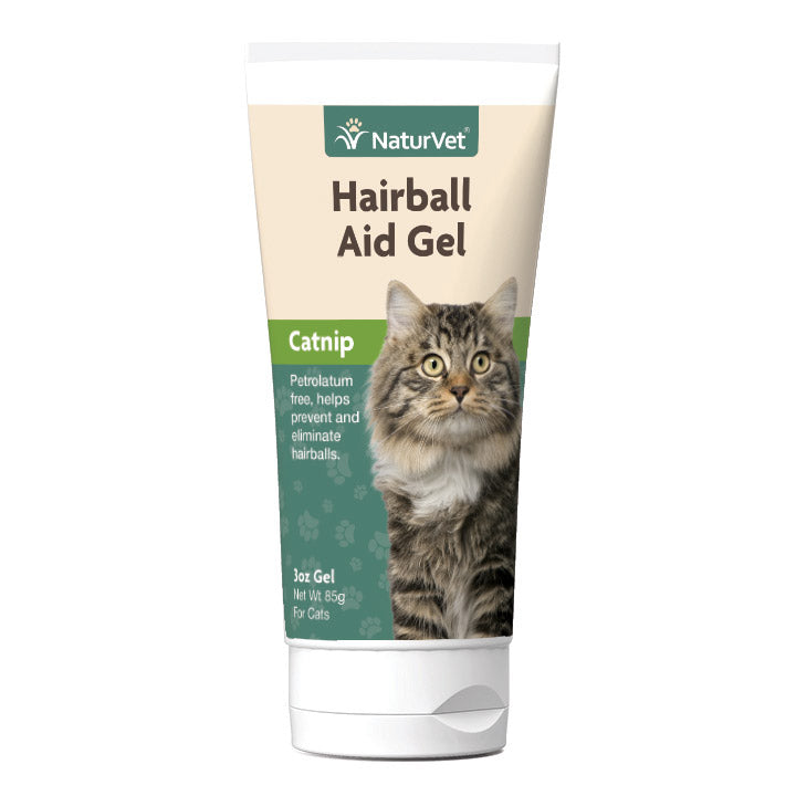 NaturVet Natural Hairball Aid Cat Gel 3oz