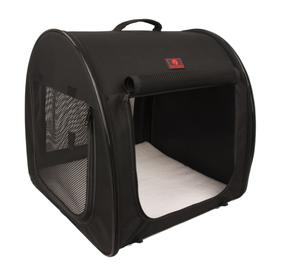 One For Pets Folding Fabric Kennel Black