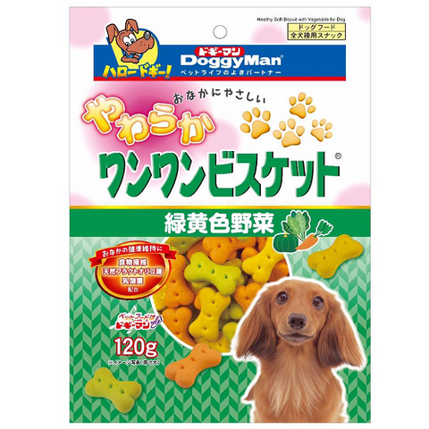 Doggyman Bowwow Soft Biscuit with Vegetables (120g)