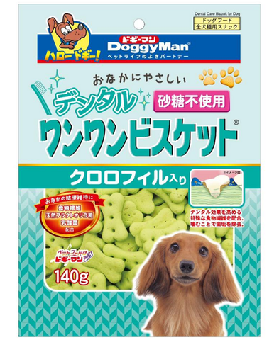 Doggyman Dental biscuit with Chlorophll (140g)