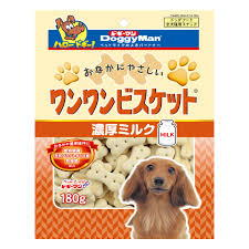Doggyman Bowwow biscuit with rich milk (180g)