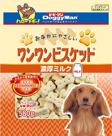 *Buy 1 Get 1 Free!* Doggyman Bowwow biscuit with milk (580g)
