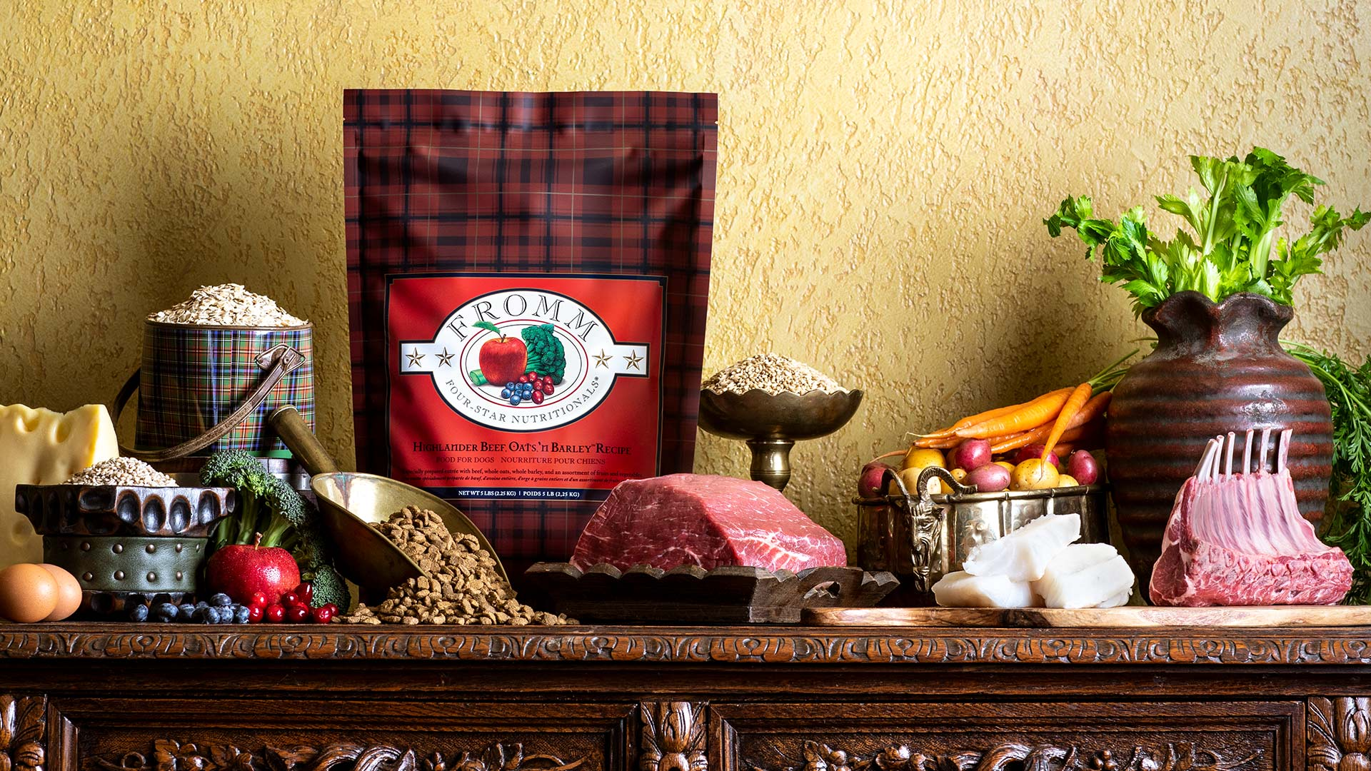 Fromm Highlander Beef, Oats, 'n Barley® Recipe Food for Dogs