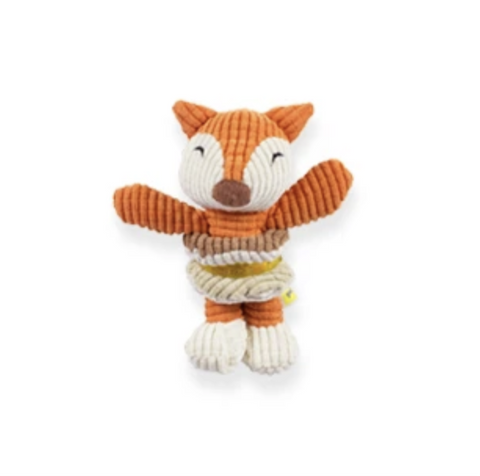 Be One Breed Baby Fox Dog Toy