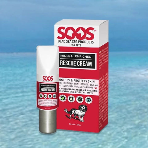 SOOS Natural Rescue Cream for Dogs & Cats