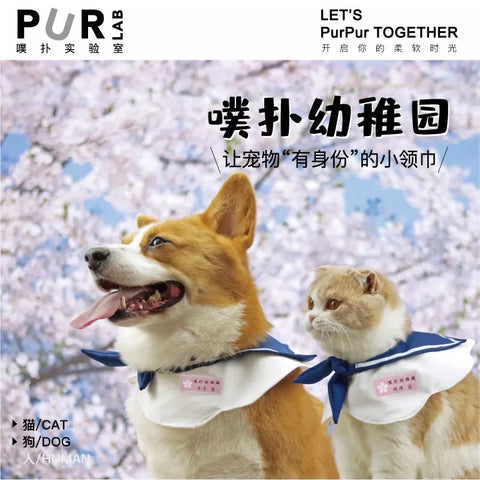 Purlab Pet Sailor Collar