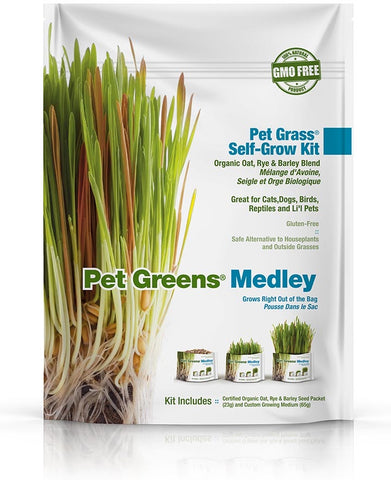 Pet Greens Medley Self Grow Kits