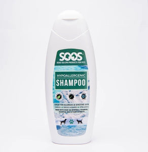 SOOS Natural Dead Sea Hypoallergenic Pet Shampoo For Dogs & Cats 500ml